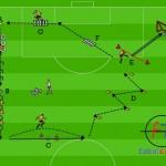 Circuito Fisico y de conducción. Psicomotricidad aplicada al fútbol