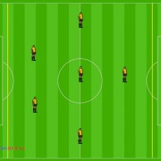 Sistema de Juego 1_2_3_1 Futbol Siete