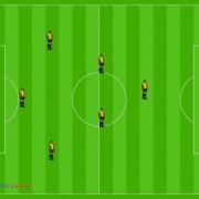Futbol Siete. Sistema de Juego 1_3_2_1