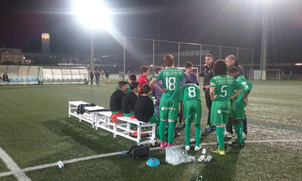 UE Cornella preparacion fase final Videos Futbol 7