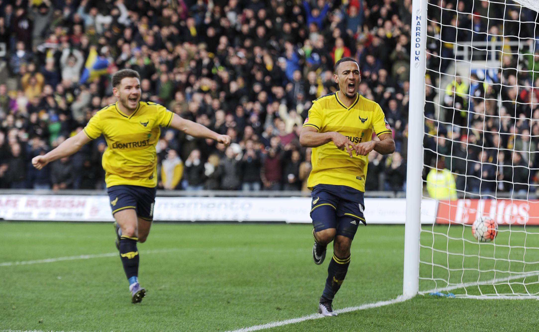 FA Cup Swansea City vs Oxford United 2016
