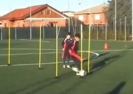 Video entrenamiento de futbol para la Mejora en la tecnica del regate