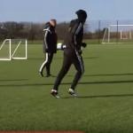 Video Entrenamiento de Futbol Swansea City AFC