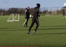 Video Entrenamiento de Futbol Swansea City AFC