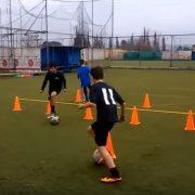 Ejercicios Futbol control del balon 1