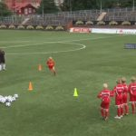 Vídeo Soccer Drills for kids, speed drill, 1vs1 and finishing on goal