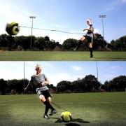 banda elastica para el entrenamiento de futbol